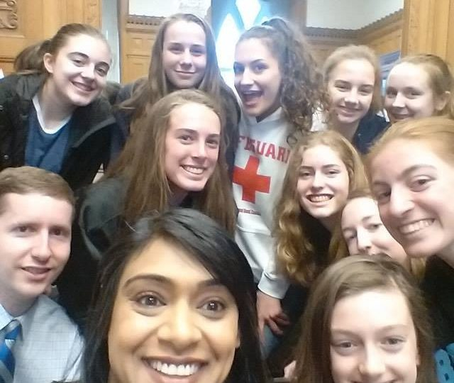 KWGBA Wildhawks Tour of Parliament with Bardish Chagger